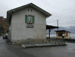 Photo Rivaz gare